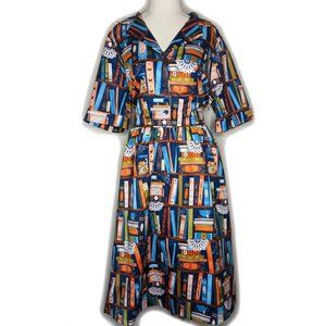 Lindy Bop Bletchley Book Dress